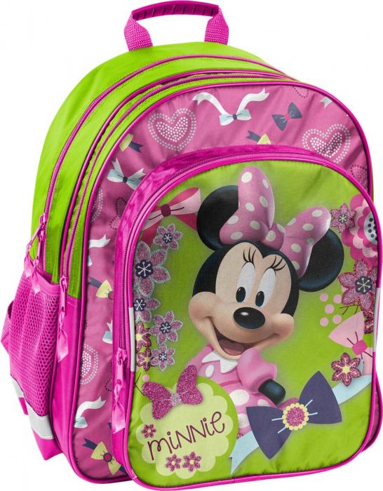 Ghiozdan scoala Minnie Mouse 3 compartimente [0]