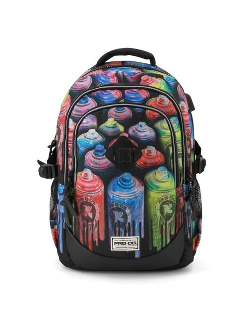 Ghiozdan scoala Prodg Colors 44 cm 1