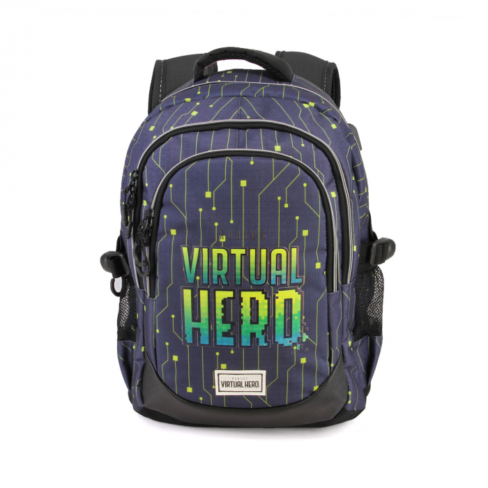Ghiozdan scoala Virtual Hero 44 cm 0