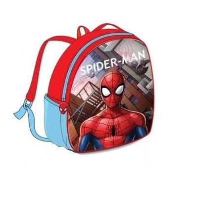 Ghiozdan Spiderman rosu 32 cm 0
