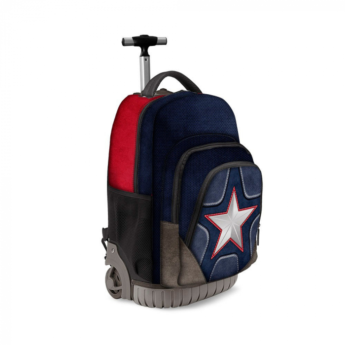"Ghiozdan troler ""Captain America"" 32x47x27 cm 0"
