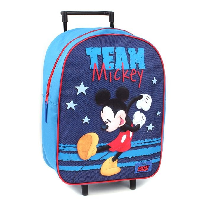 Ghiozdan troler Mickey Mouse 39 cm [0]