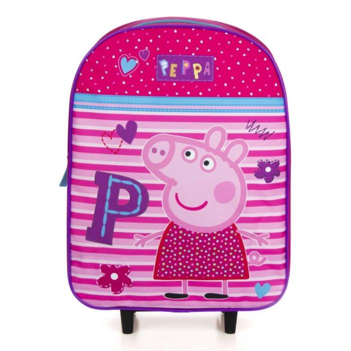 Ghiozdan troler Peppa Pig 39 cm 1
