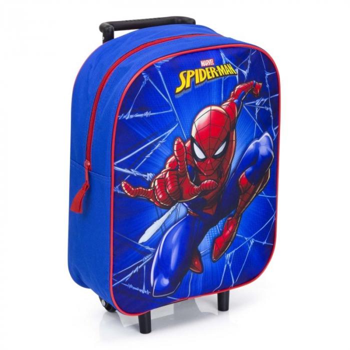 Ghiozdan troler Spiderman 39 cm 1
