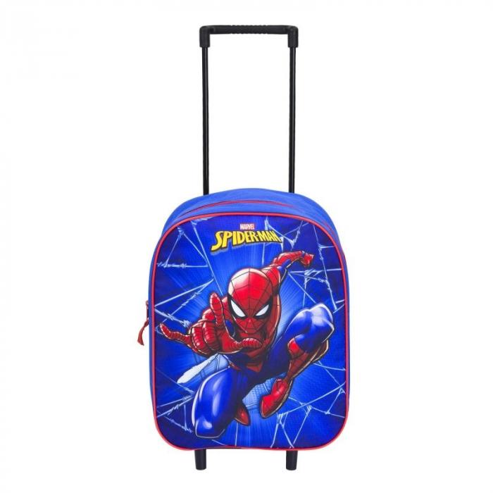 Ghiozdan troler Spiderman 39 cm 0