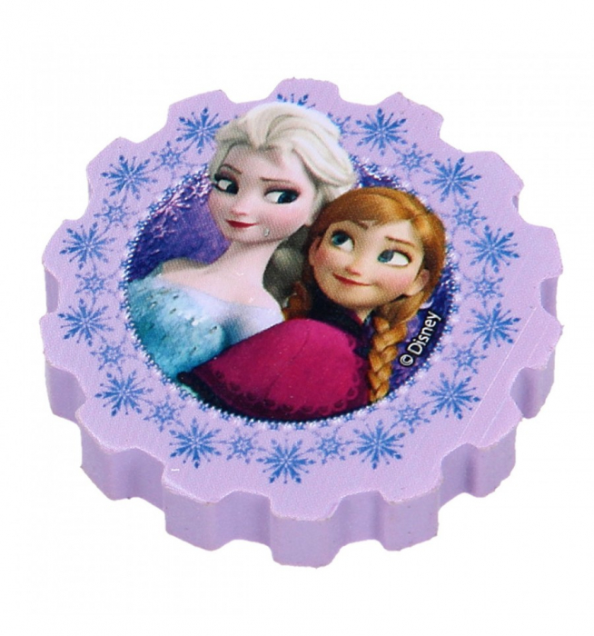 Guma sters Frozen set 4 bucati 6