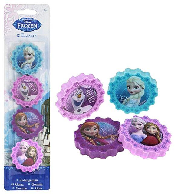 Guma sters Frozen set 4 bucati 0