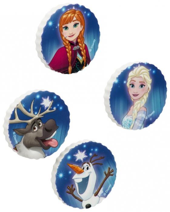 Guma sters Frozen set 4 bucati albastre [0]