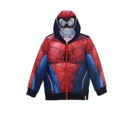 Hanorac Spiderman rosu 4 ani, 104 cm 0