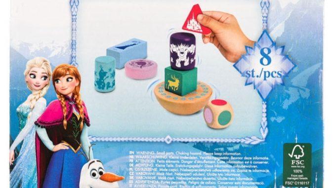 Joc de echilibu, Frozen 8 piese 2