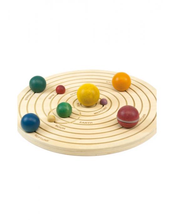Joc educativ din lemn, Sistemul Solar 3D [11]