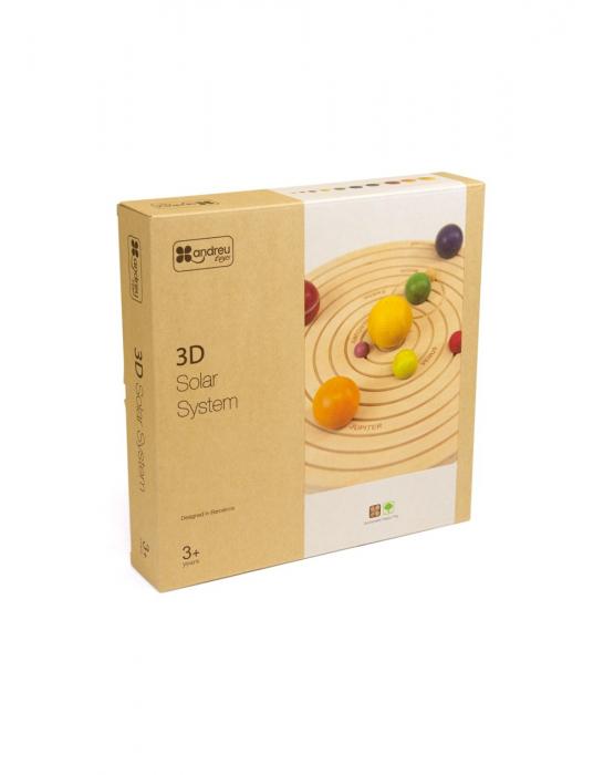Joc educativ din lemn, Sistemul Solar 3D [5]