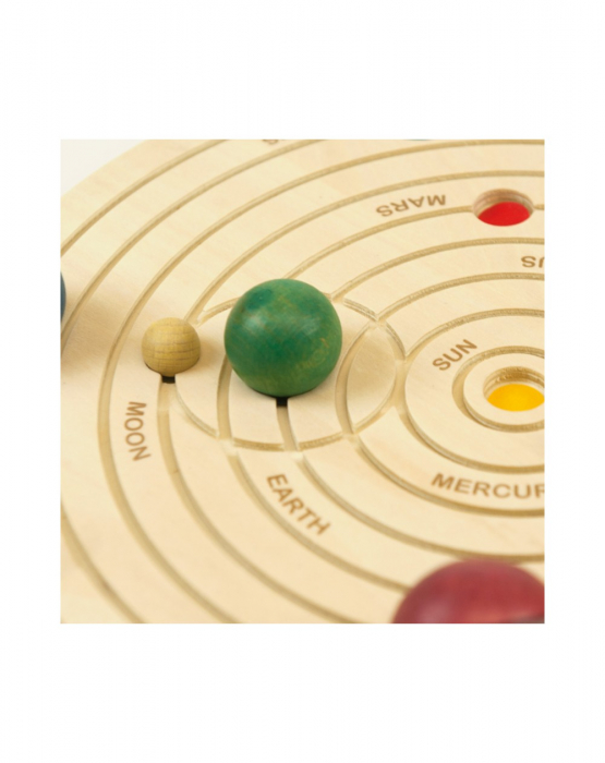 Joc educativ din lemn, Sistemul Solar 3D [7]