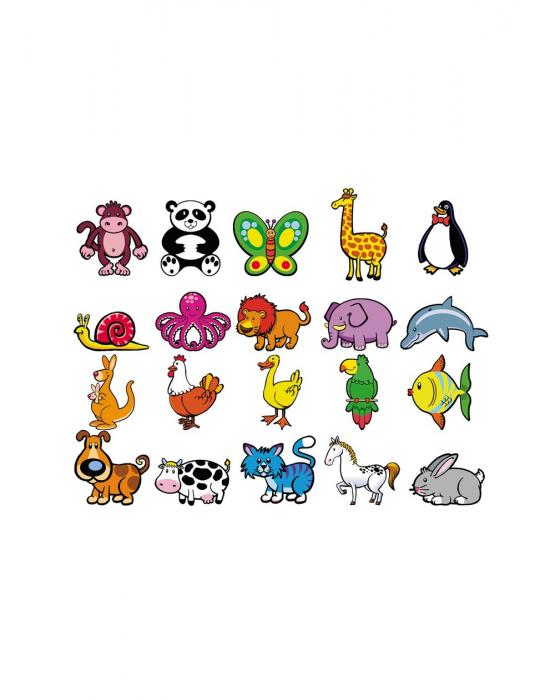 Joc magnetic cu animale, 20 piese [2]