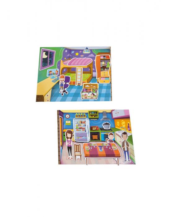 Joc magnetic House, 37 piese [2]