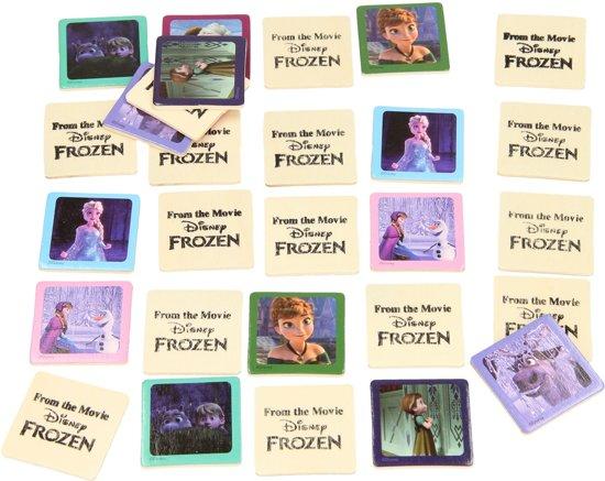 Joc memorie Frozen, lemn [1]