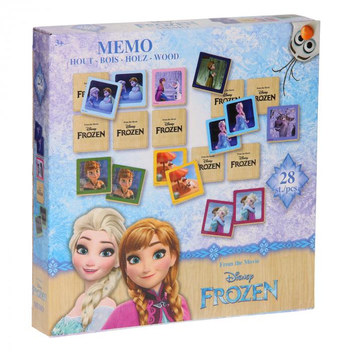 Joc memorie Frozen, lemn [0]