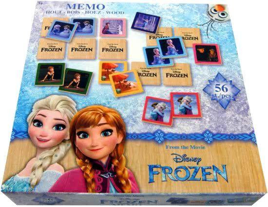 Joc memorie Frozen, lemn [3]