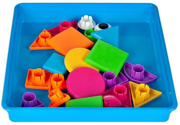 Jucarie educativa puzzle creativ forme geometrice [7]