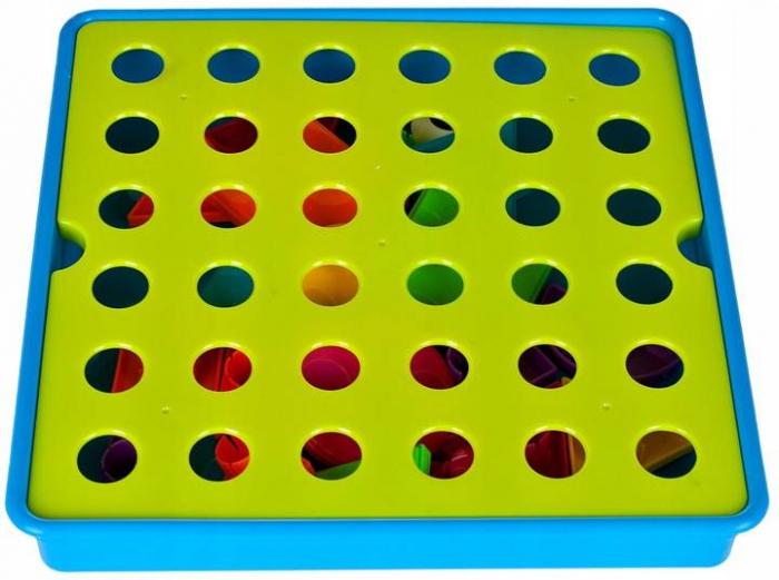 Jucarie educativa puzzle creativ forme geometrice [5]