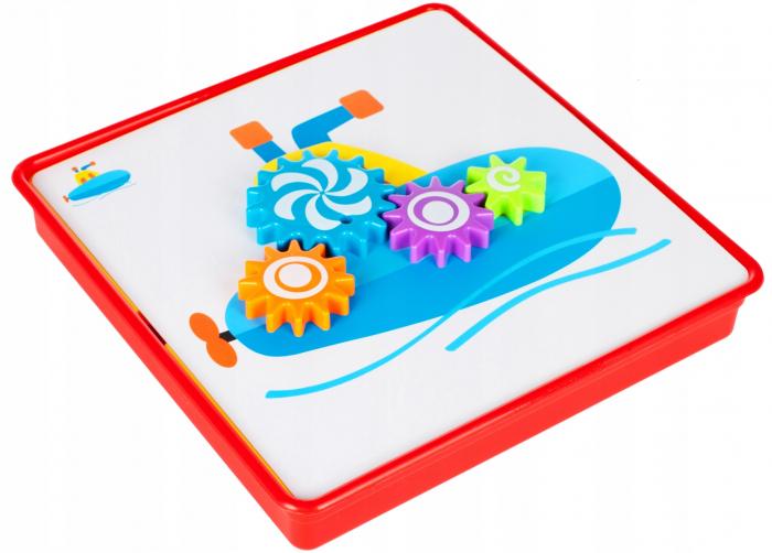 Jucarie educativa puzzle creativ Gear [0]