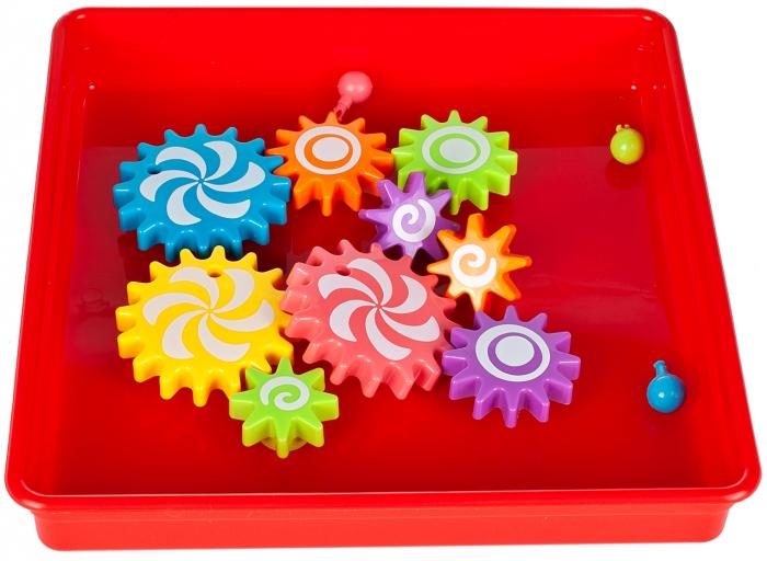 Jucarie educativa puzzle creativ Gear [4]