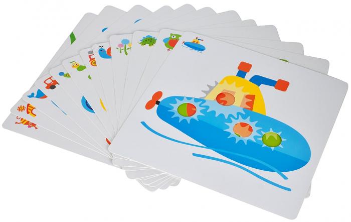 Jucarie educativa puzzle creativ Gear [2]