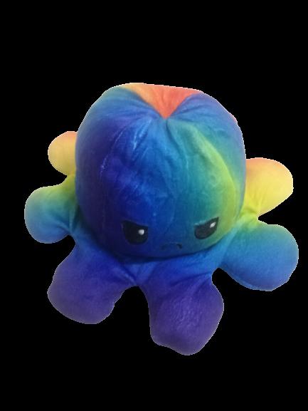 Jucarie reversibila, caracatita 2 fete, Rainbow 1