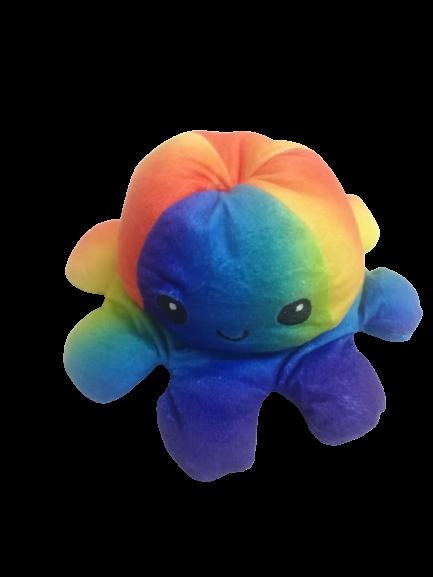 Jucarie reversibila, caracatita 2 fete, Rainbow 0