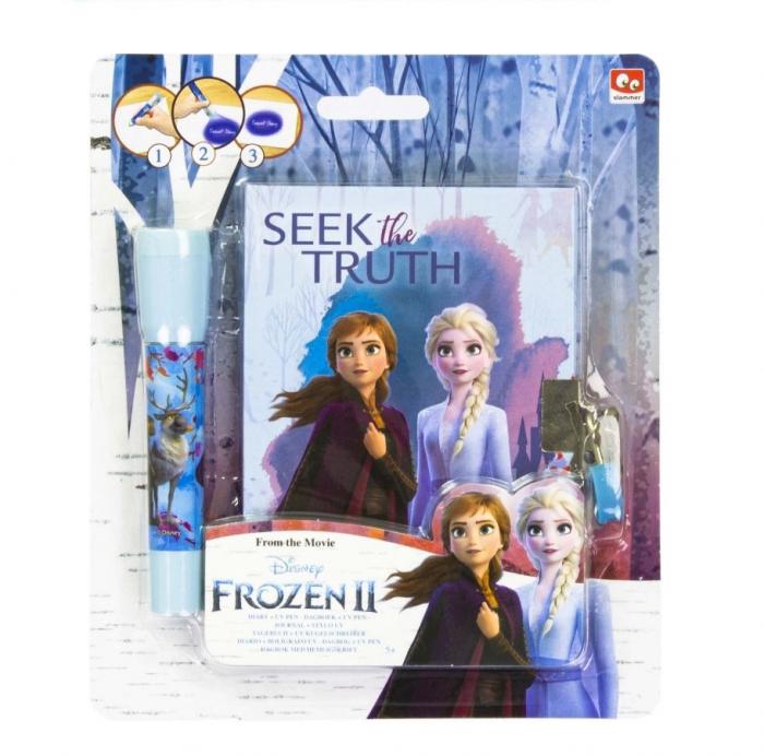 Jurnal Frozen II + pix UV cu cerneala invizibila 0