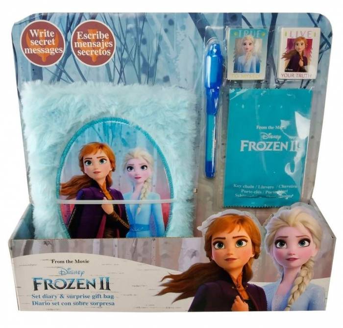 Jurnal secret Frozen 2 + un cadou supriza 0