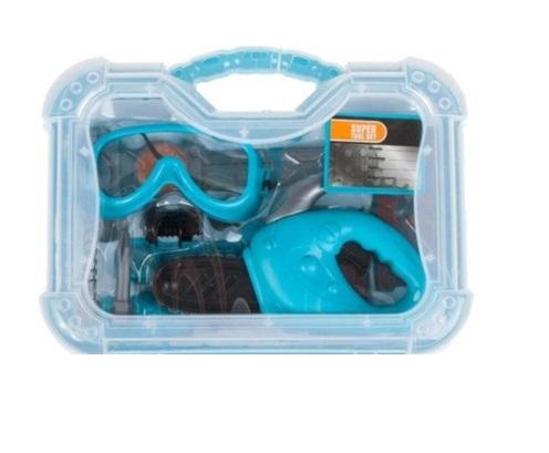 Kit valiza de scule pentru baieti 27X24X9 cm [0]
