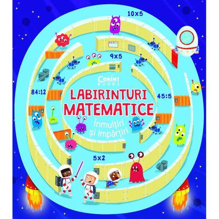 Labirinturi matematice – Inmultiri si impartiri, Angelika Scudamore 0