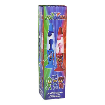 Lampa Glitter tip lava PJ Masks albastru 33.5 cm 0