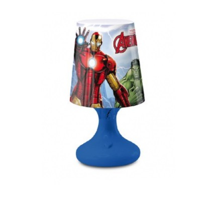 Lampa veghe mini led Avengers albastru 18.5 cm 0