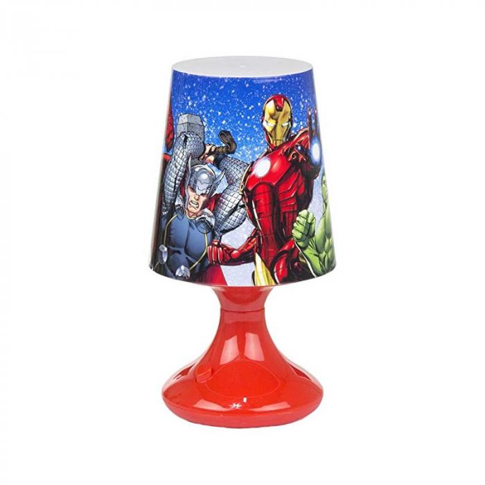 Lampa veghe mini led Avengers rosu 18.5 cm 0