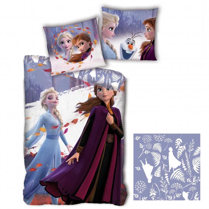 Lenjerii de pat copii, Frozen 2, microfibra 0