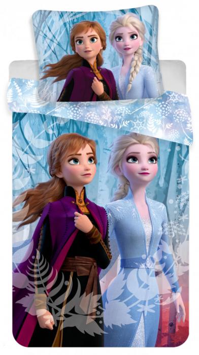 Lenjerii de pat copii, Frozen II,2 piese 140Ă—200 cm,70Ă—90 cm 0