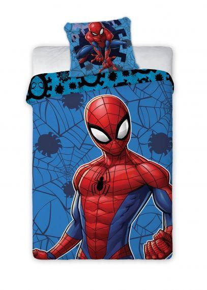 Lenjerii de pat copii, Spiderman, 2 piese 140Ă—200cm, 63Ă—63 cm 0
