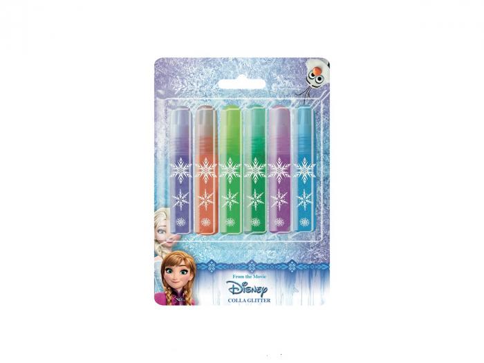Lipici lichid Frozen, 10.5 ml/culoare, 6 culori glitter [0]