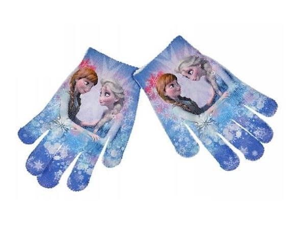 Manusi Frozen poliester Anna&Elsa,16-18 cm 0