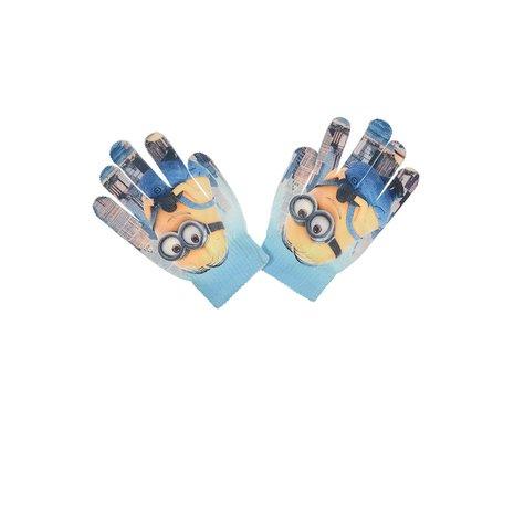 Manusi Minions poliester,16-18 cm, bleu [0]