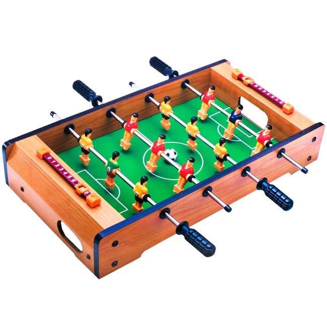 Masa de foosball pentru copii , din lemn , fotbalisti , ATS, 50x31x10 cm , masa de fotbal [0]
