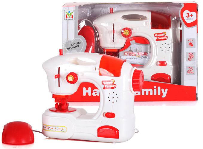 Masina de cusut Happy Family de jucarie cu accesorii 2