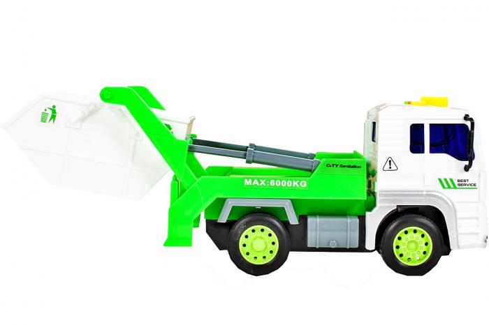 Masina de gunoi cu sunet si lumini 18x9,5x11cm [1]