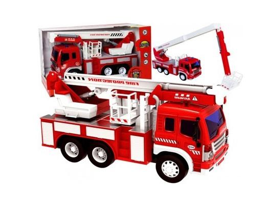 Masina de pompieri cu sunet si lumini 2