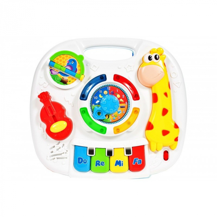 Jucarie interactiva Girafa Masuta cu activitati pentru bebelusi cu sunete si lumini [1]