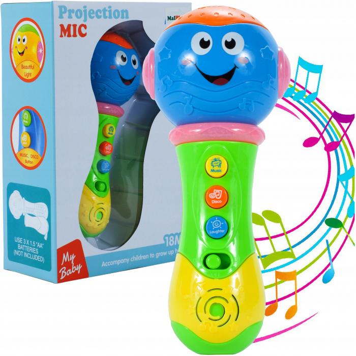 Microfon sunet si lumini [0]