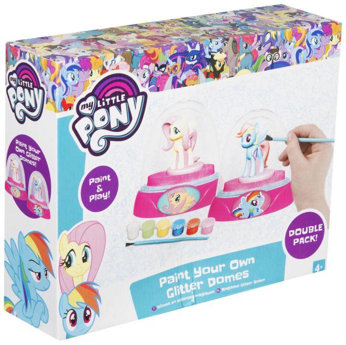 Set de pictat My Little Pony, 2 piese glob 0
