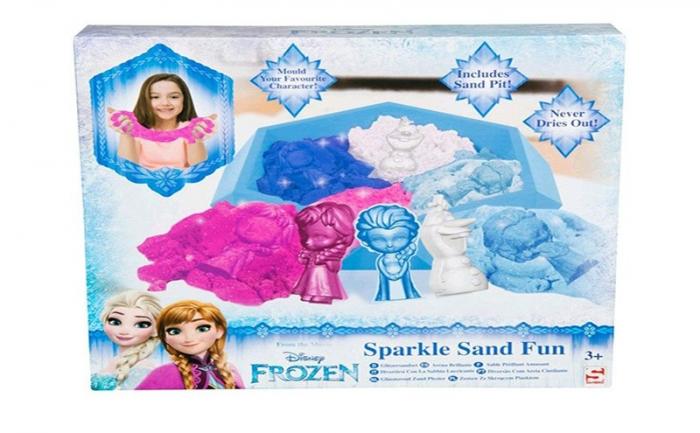 Nisip kinetic Frozen 4 culori 2